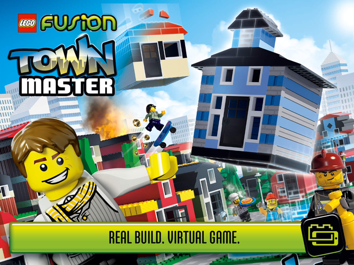 LEGO FUSION Town Master Free App Game