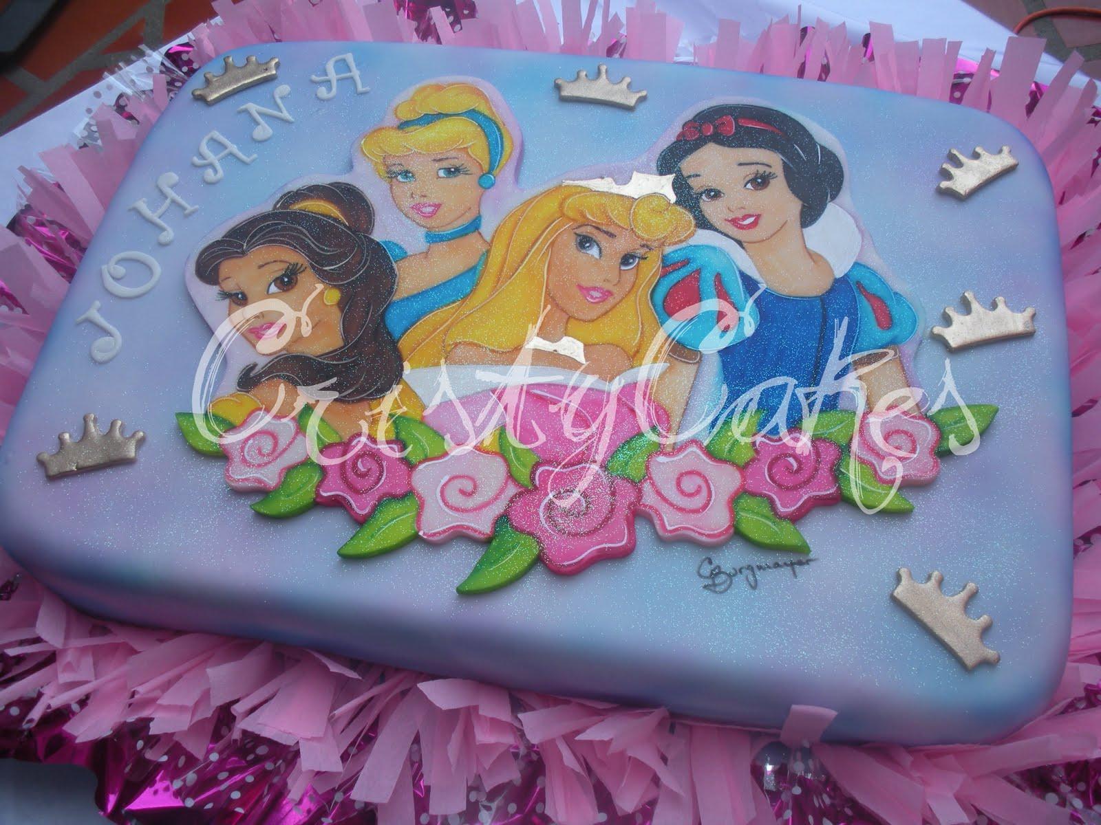 Cristy's Cakes: Princesas Disney