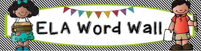 All Of These Banners Match My ELA And Math Word Wall Vocabulary Card Sets Perfectly Or You Can Use Them To Your Own Cards Enjoy