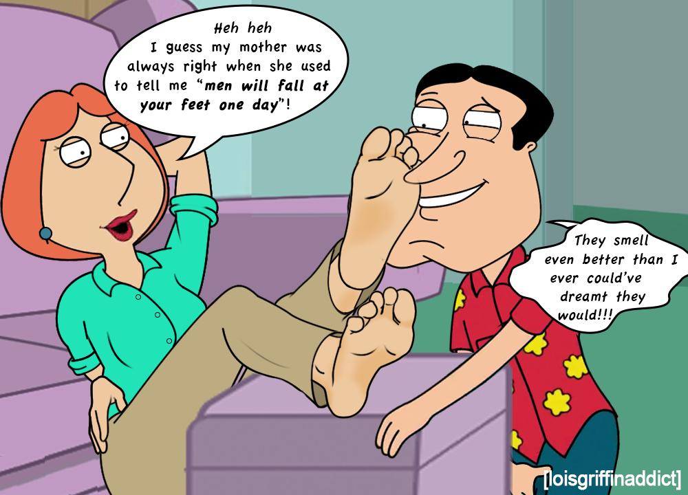sexy family guy foot porn