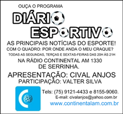 OUÇA O DIÁRIO ESPORTIVO