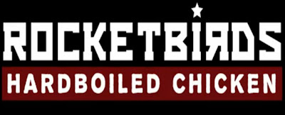 Rocket Birds: Hard Boiled Chicken Logo - We Know Gamers