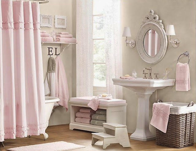 28 beautiful girls bathroom dallas mansion home for Girls bathroom ideas