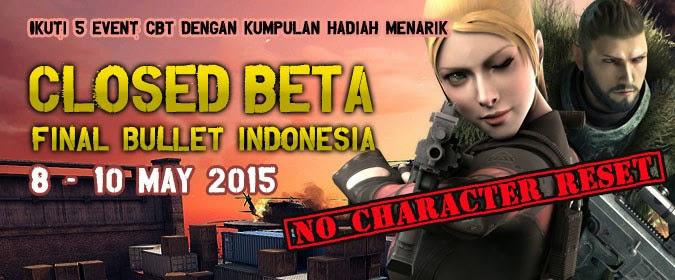 Masuki Tahap CBT, Final Bullet Indonesia Berikan Hadiah Menarik dan Event Seru