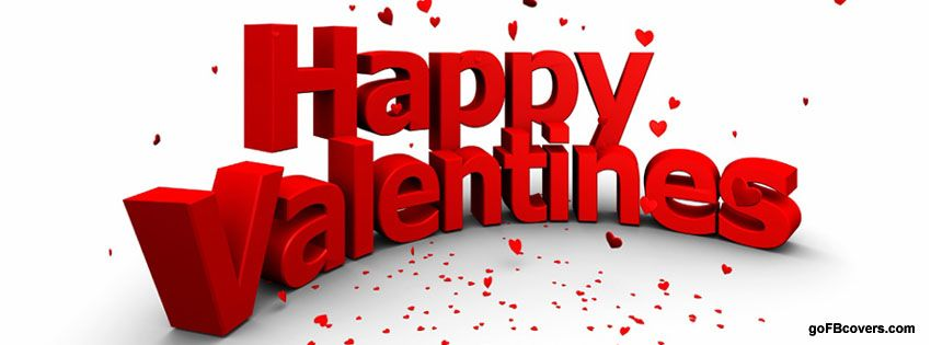 Valentines Day facebook Cover free
