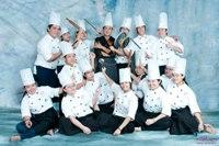 第四届-1年烘焙专业技术班学生合照