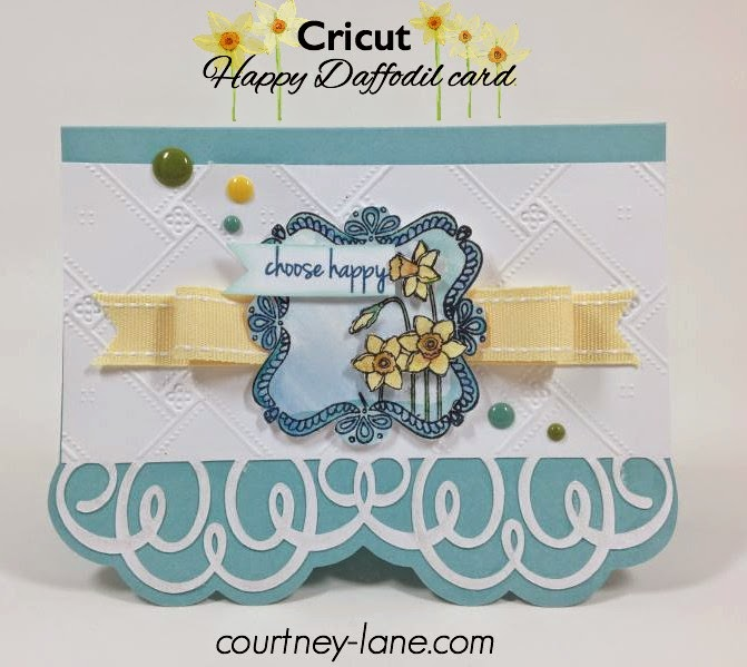 Happy Daffodil card