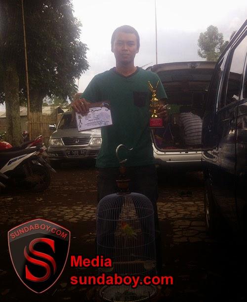 Juara Gebyar Exlusive Lomba Burung Berkicau