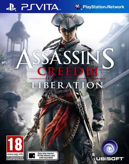 Assassin's Creed III Liberation Game Cover