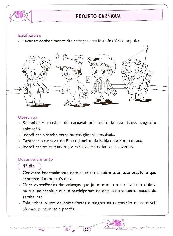 Famosos Educando com Amor: PROJETO CARNAVAL VG84