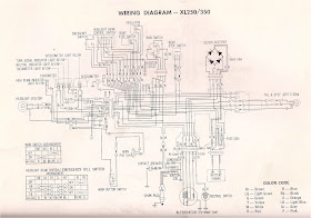 R4L: XL350 Wiring Diagram (and XL250)R4L - blogger