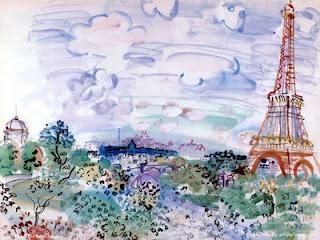 Lu pour vous - Hélène Sturm, Pfff dans Auteurs, écrivains, polygraphes, nègres, etc. raoul_dufy+Tour+Eiffel