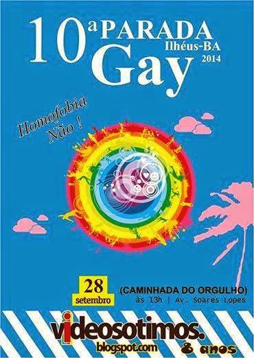 10ª PARADA GAY DE ILHÉUS 28 DE SETEMBRO 2014