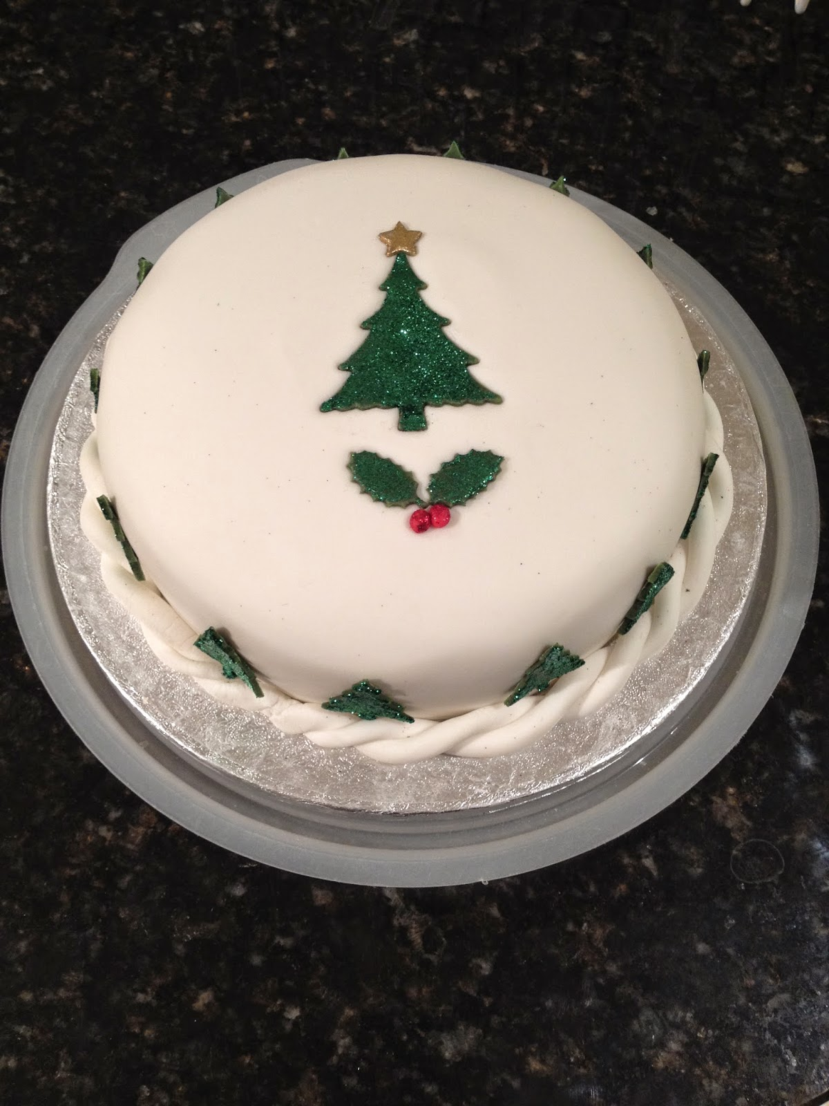 Scaling Down Christmas Cake Recipe