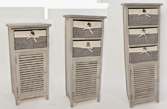 Muebles Auxiliares Baño Mimbre : Cester?a y mimbre organiza decora tu hogar con