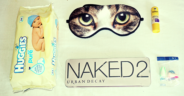 buggies baby wipes, cateyeslondon eye mask, urban decay naked palette 2, soutane, moldex ear plugs