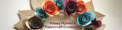 Happy Hijaabi's Papercraft Creations