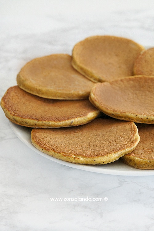 Bliny russi di grano saraceno ricetta tipica cucina russa - buckwheat pancakes blinis recipe
