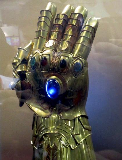 Infinity Gauntlet In Odin S Trophy Room