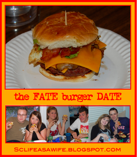 Fate Burger Date l Grilling Party Ideas