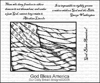 Our Daily Bread Designs, God Bless America