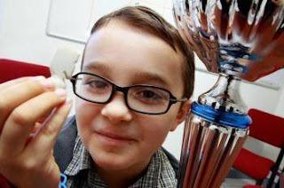 Echecs à Tarbes : Matthias Laffonta, 8 ans - Photo Laurent Dard