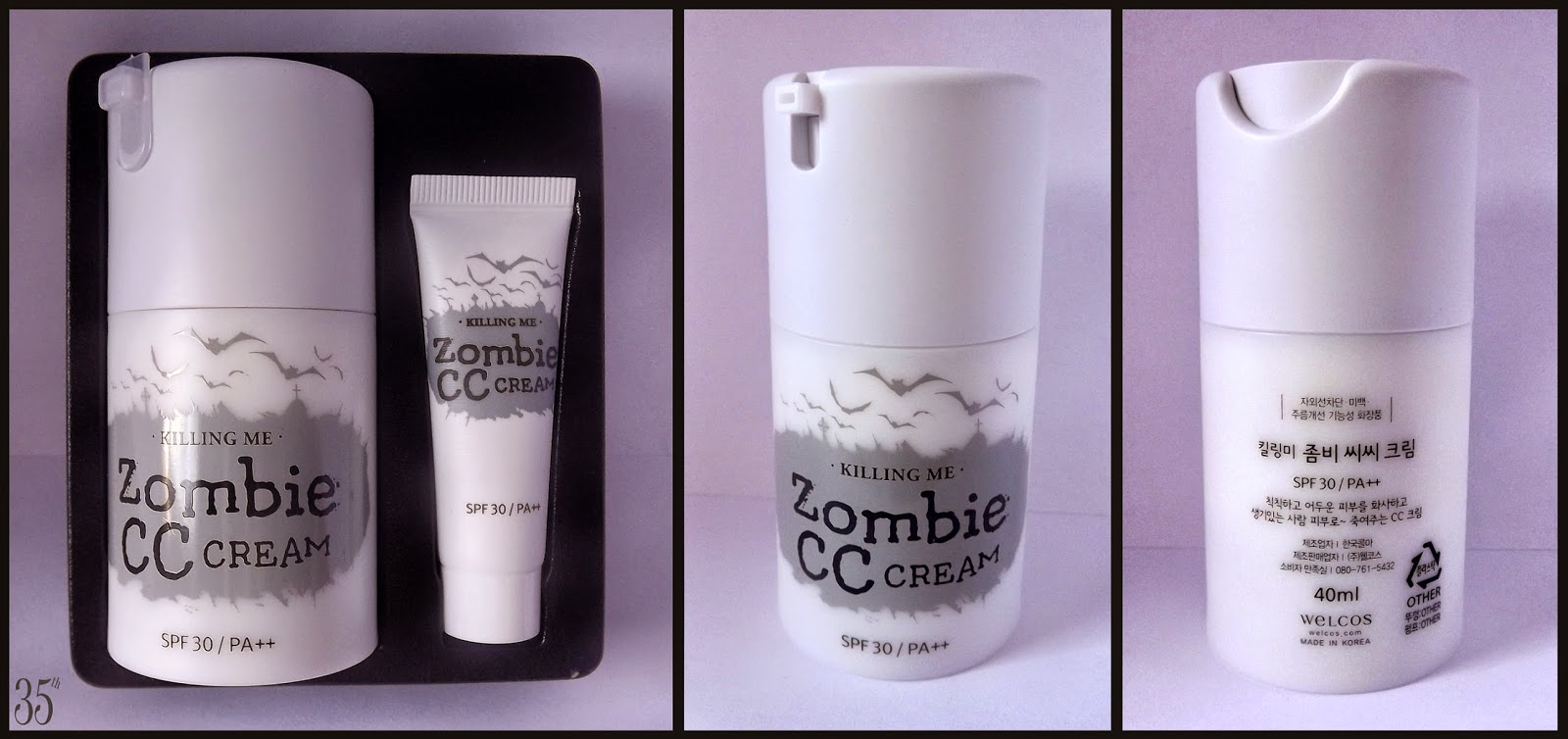 Welcos Killing me Zombie CC Cream