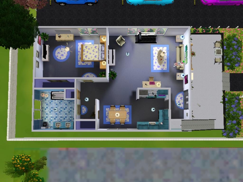 Desain Rumah The Sims 3 - House 1 & Umu Humairo\u0027s World: Desain Rumah The Sims 3 - House 1