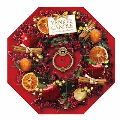 Calendrier de l'Avent Yankee Candle Noël Bougies