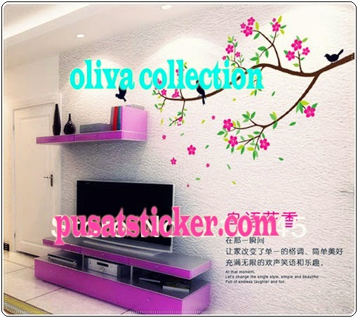 jual wall sticker beautiful branch - olivacollection
