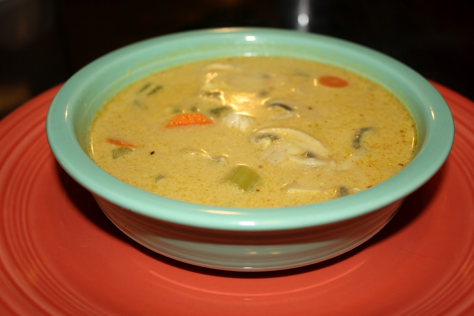 Just Plain Paleo: Green Curry Chicken Soup