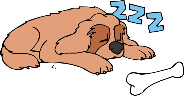 gallery for gt sleeping dog clipart