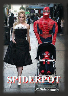 cepot spidermen lucu
