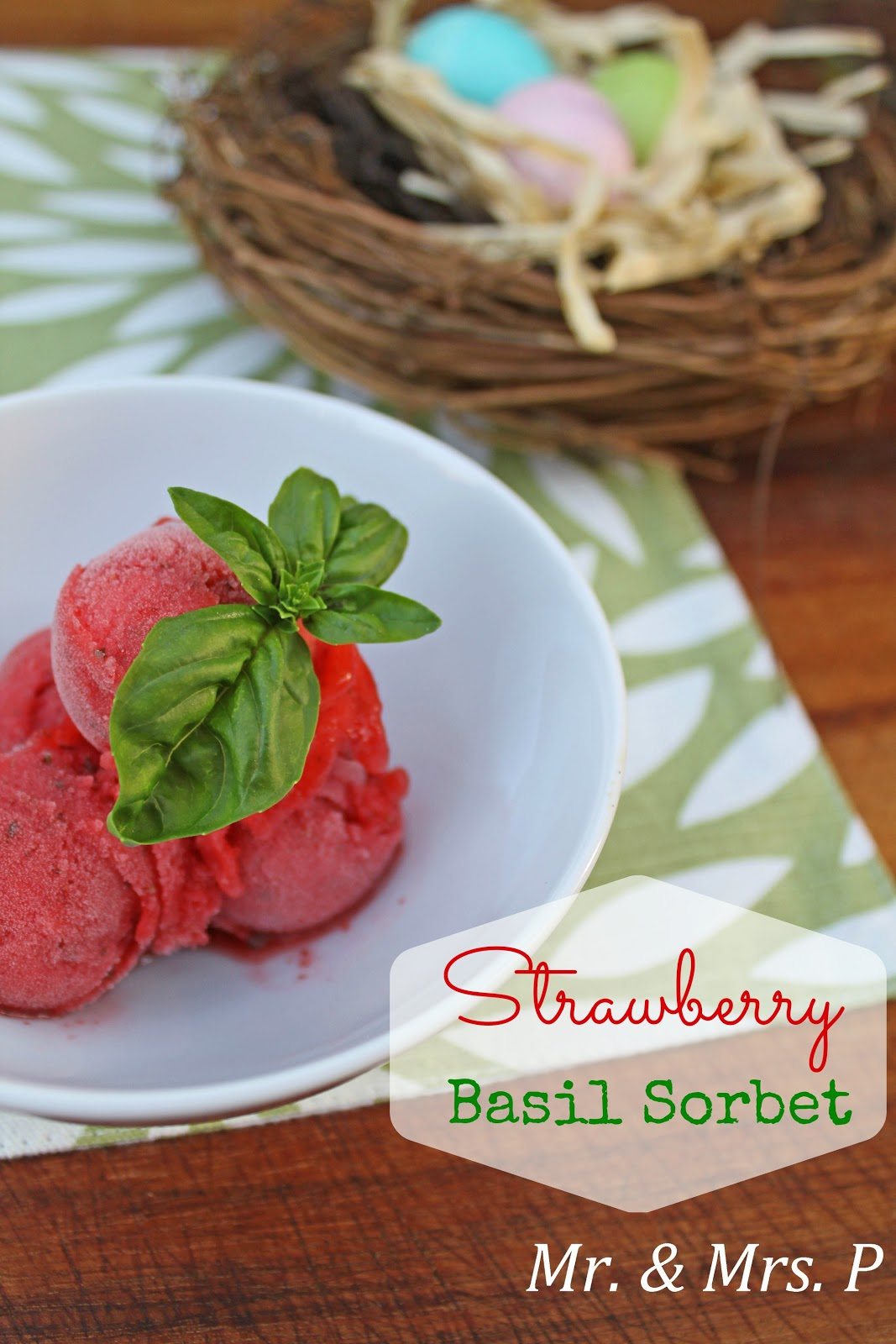 Strawberry Basil Sorbet Recipes — Dishmaps