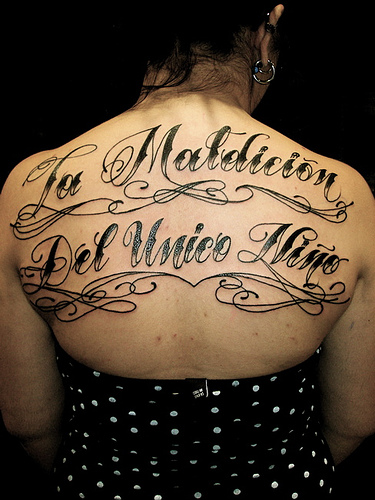 Letter Tattoo Designs For Girls