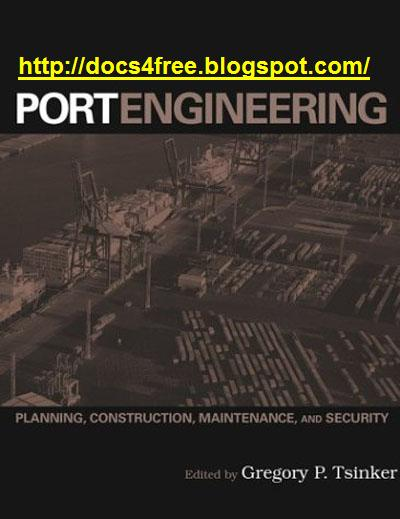 docs4free port engineering planning construction maintenance and security