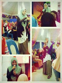 Diana Amir di UiTM kampus Kuala Terengganu