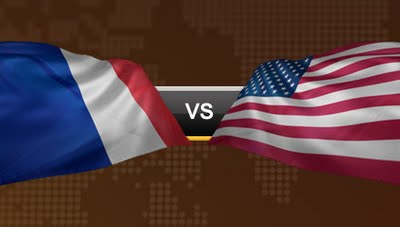 France Vs USA Football