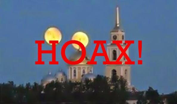 Kabar Mars Nampak Sebesar Bulan pada 27 Agustus Murni HOAX