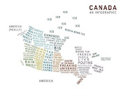 Public Information Service. Hope you can read thisit's quite important . (canada map)
