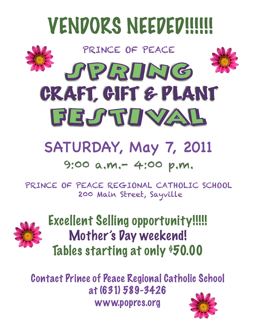 Diane costanza studio long island crafter opportunity for Craft fair application template