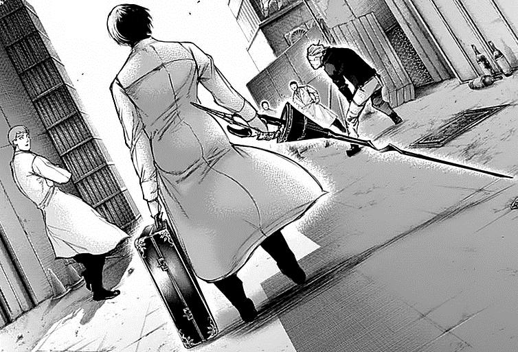 Mengapa Ghoul Investigator selalu membawa koper???