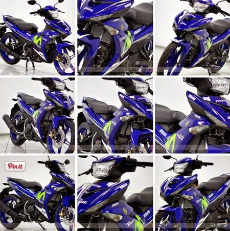 gambar Jupiter MX King 150 Movistar Yamaha