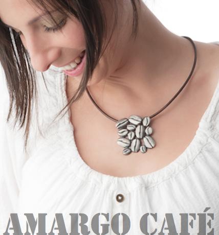 Colgante plata cafe Stimuls