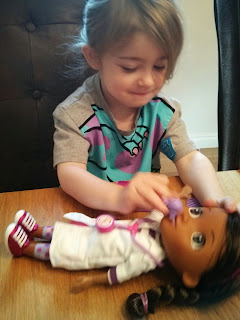 playing with Doc McStuffins