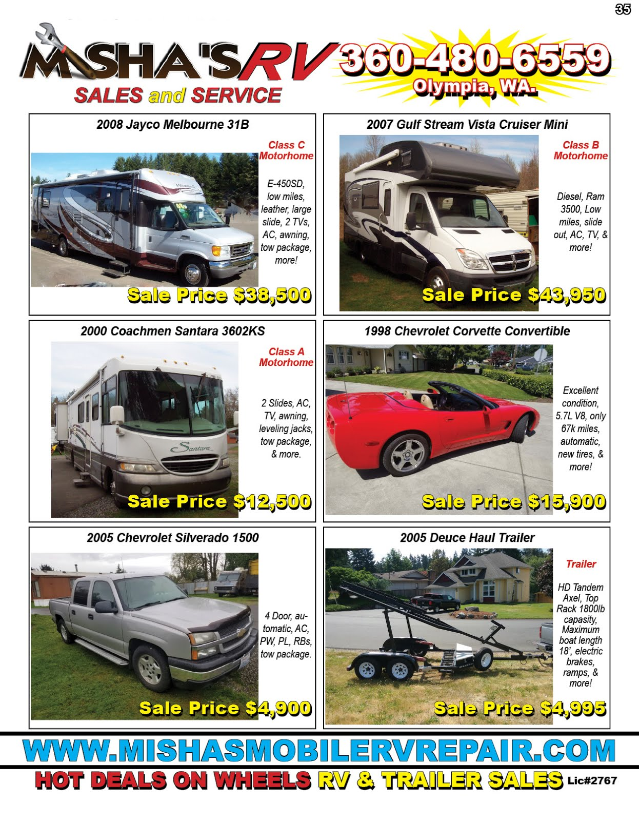Misha's RV Sales & Service
