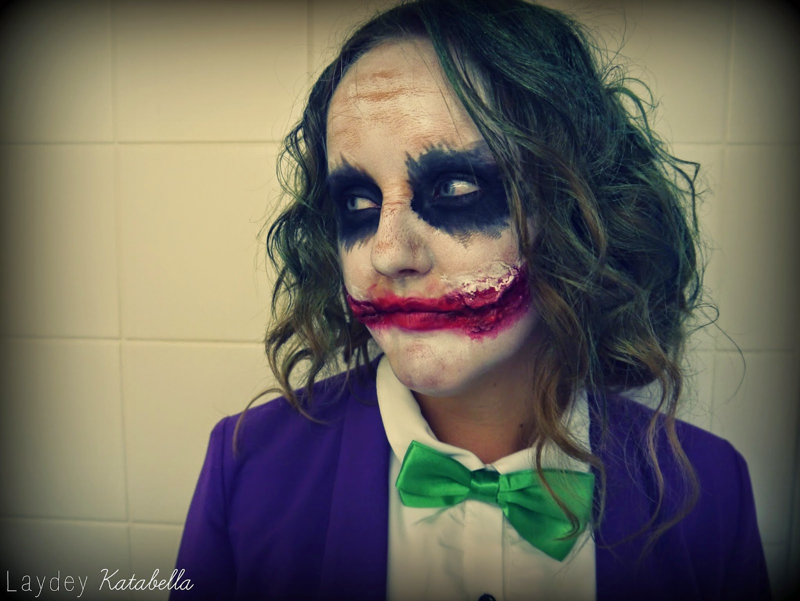 heath ledger the joker make-up