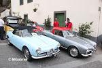 """Alfa Romeo Giulietta Spider 101 - 1960 """" azzuro """" & Giulietta Spider 750D - 1956"""