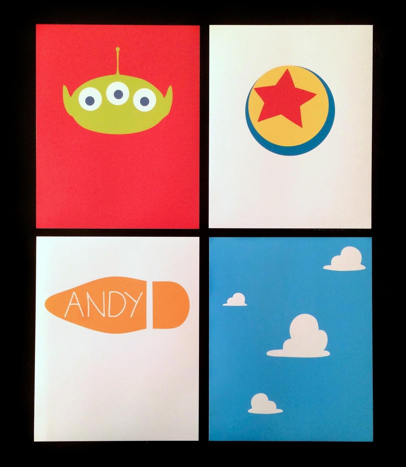 Dan the pixar fan toy story minimal art prints for for Minimal art video