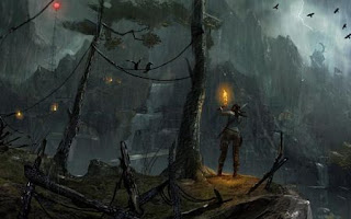 Tomb raider 2013 night concept art wide opt id1349294732 8551 Tomb Raider PS3 DUPLEX